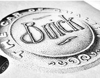 SWEAR A LOT - Hand Drawn Buick Emblem