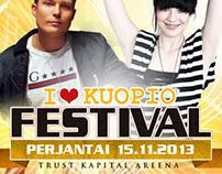 I Love Kuopio festivals -event