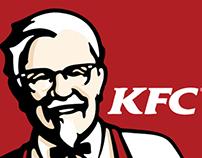 KFC Uganda Office Branding