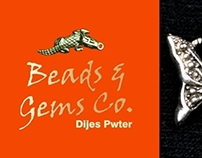 Beads & Gems internal catalogue pwter and charms