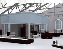 Amenajare Showroom in stil Mackintosh