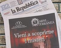 Pagina pubblicitaria uscita su Repubblica