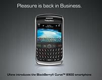 BlackBerry Curve 8900 tvc