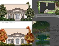 Garden design for a Wine Spa Hotel
