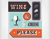 wine & cheese please