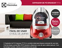 Electrolux - Aspirador de Pó ERGOEASY TIT10