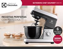 Electrolux - Batedeira Chef Gourmet SMO10