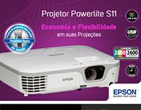 Epson - Projetor Powerlite S11