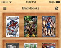 BlackBooks - iOS6/7 Concept