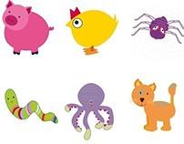 Animals : Illustrations