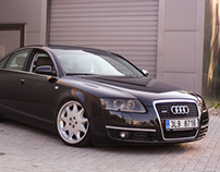 Audi A6 on Brabus wheels