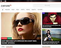 Daphne - WordPress Responsive News Theme