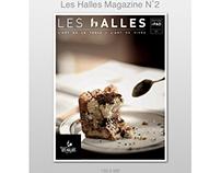 App des Halles sur iPad