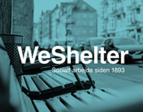 WeShelter - Corporate Visual Identity