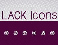 LACK Icons
