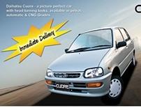Daihatsu Cuore Print Ads