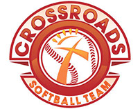 Logo - Crossroads Softball Team