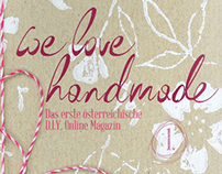 we love handmade MAG #1