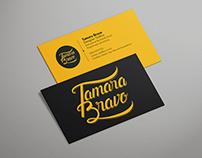 Tamara Bravo - Visual Identity