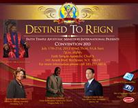 Faith Temple Apostolic Ministries Convention 2013 Flyer