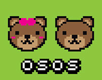 'Osos' — Stickers
