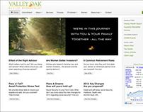 Valley Oak Wealth Management Website