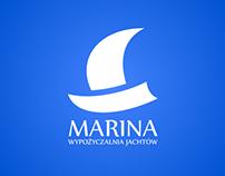 """Logo for """"Marina Rental boats"""""""