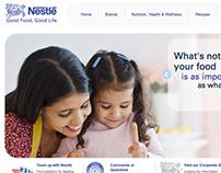 Nestle.ca Redesign Concepts