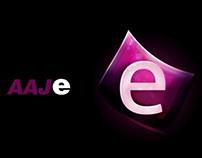 Logo Design for AAJ ENTERTAINMENT (Pitch)
