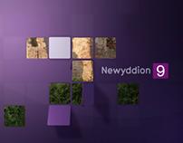 BBC Newyddion News Rebrand