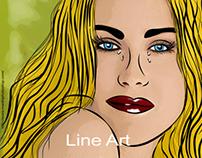 """Pop art """"Diane Kruger"""""""