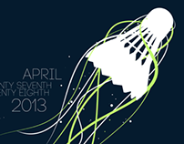 UC Davis 2013 Spring Open T-Shirt Design