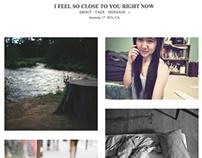 A Clean Tumblr Theme