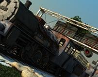 locomotiva 3d