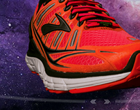 Brooks Running / Transcend: Product Photography