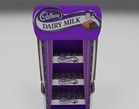 Cadbury stand