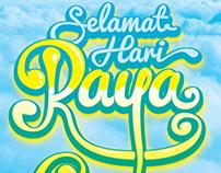 Raya 2013 poster