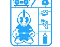 Kidrobot toy shirt