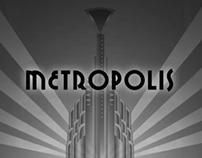 """Titulos de """"METROPOLIS"""" - Fritz Lang - Animación"""