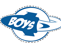 Blue Rocket Tag Design