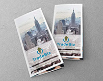 TradeBiz Tri-Fold Brochure