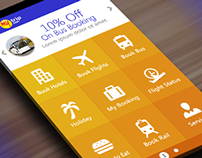 MakeMyTrip App Redesign