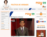 PSD (Political Campaign 2009) website