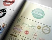Thin Liza / Business Brochure Template