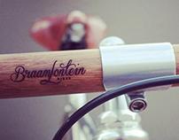 Laser Engraved Bamboo Bike Handlebars