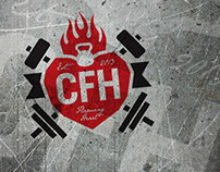 CrossFit Flaming Heart Logo