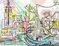 Album Art | Transitions | Atropolis | Adam Partridge