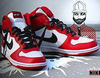 2011 / PHOTO&GRAPH Nike big Nike