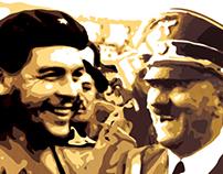 Ernesto Guevara and Adolf Hitler