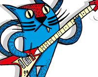 Cat Rock - Tee Design